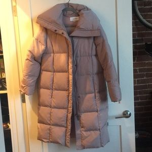 NEW Calvin Klein Long Puffer Coat